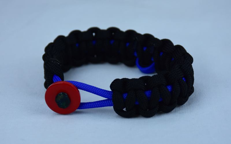 blue with anti il friendship bracelet pksi bullying awareness macrame listing